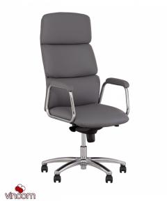 Кресло Новый Стиль CALIFORNIA steel chrome (Экокожа)