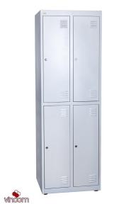 Шкаф для одежды НО 24-01-06х18х05-Ц-7035