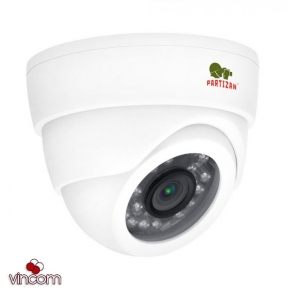 Видеокамера Partizan CDM-223S-IR FullHD Metal