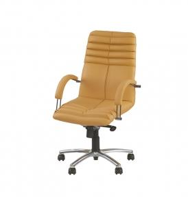 Кресло Новый Стиль GALAXY steel LB MPD AL68 (Экокожа)