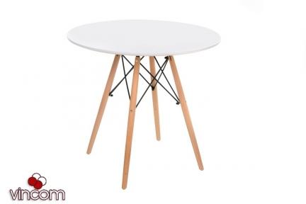 Стол обеденный Vetro мебель ТМ-35 белый