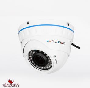 Видеокамера AHD купольная Tecsar AHDD-30V1M-out
