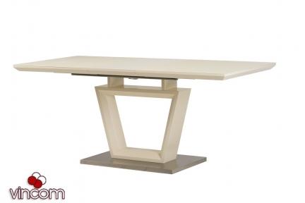 Стол обеденный Vetro ТММ-51 молочный