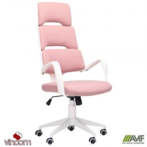 Кресло AMF Spiral White Pink