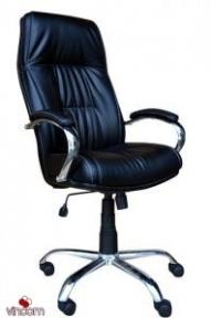 Кресло Примтекс Плюс Kometa chrome (кожа Люкс)