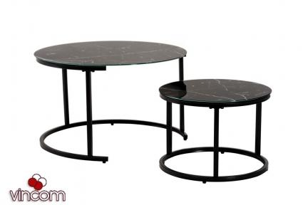 Комплект журнальных столов Vetro CS-25 черный