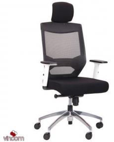 Кресло Amf Install White Alum Black/Black