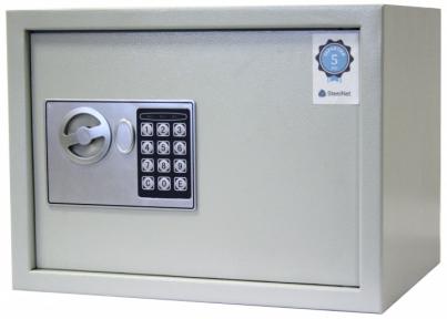 Сейф мебельный SteelNet SN-MC-26E-7035