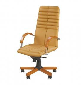Кресло Новый Стиль GALAXY wood MPD EX1 (Экокожа)