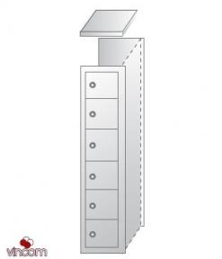 Ячеечные шкафы (камеры хранения) ШО-400/1-6 пр. уп.