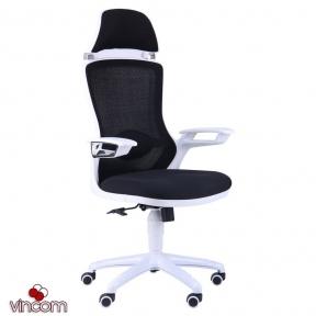 Кресло AMF Boomer сетка чёрная