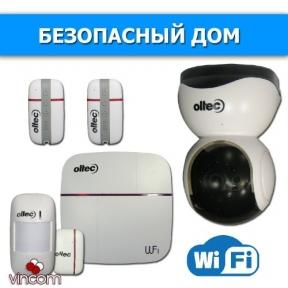 oltec Комплект беспроводной сигнализации Oltec Безопасный дом ko-27221