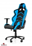 Кресло Akracing Player K601H black&blue