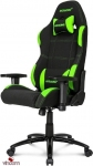 Кресло Akracing K701A-1 black&green