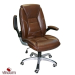 Кресло Office4You Clark (27607) brown