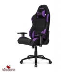 Кресло Akracing K701A-1 black&purpure