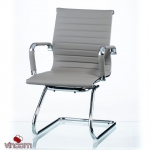 Кресло Special4You Solano office artleather grey (E5883)