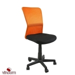 Кресло Office4You Belice Black/Orange (27731)