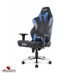Кресло Akracing MAX Black Blue