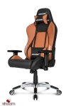 Кресло Akracing Premium V2 K700B black brown