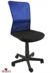 Кресло Office4You Belice Black/Blue (27734)