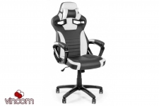 Кресло Barsky Sportdrive Game White/Black SD-17