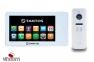 Комплект видеодомофона Tantos Neo GSM 7 White и iPanel 2